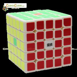 Cubos Rubik Moyu WeiChuang GTS 5x5 Base Blanca