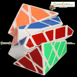 Cubos Rubik Moyu AoSu Axis 4x4 King Kong Blanco