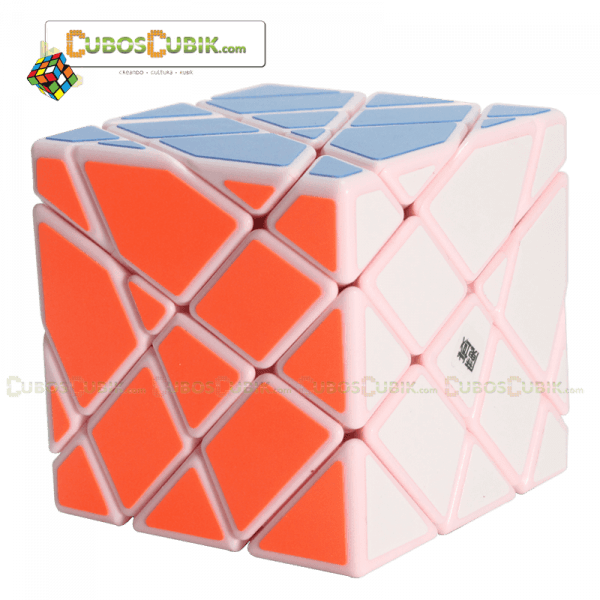 Cubos Rubik Moyu AoSu Axis 4x4 King Kong Base Rosa