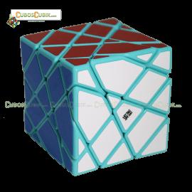 Cubos Rubik Moyu AoSu Axis 4x4 King Kong Base Verde