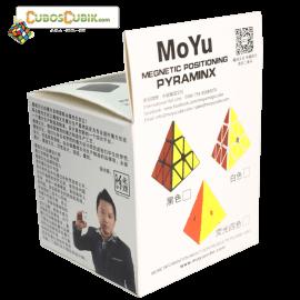 Cubos Rubik Moyu Pyraminx V2 Magnetic Colored