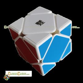 Cubos Rubik Moyu Skewb Magnetic Base Blanca