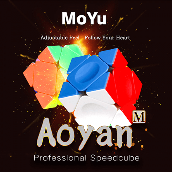 Cubos Rubik Moyu AoYan M Skewb Colored