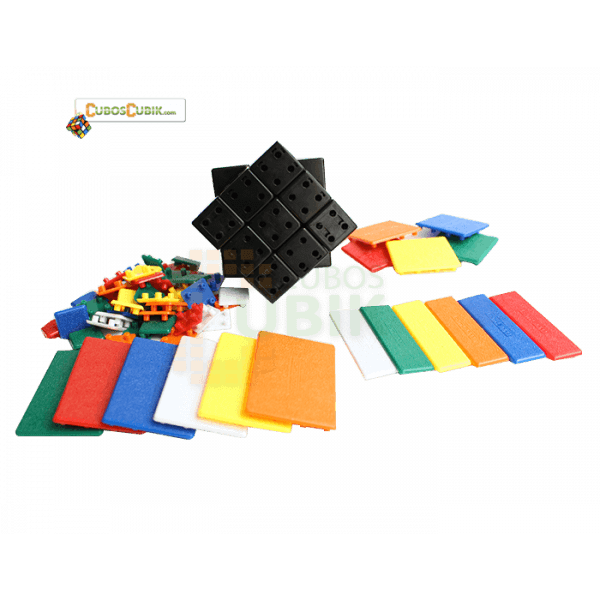 Cubos Rubik C4U Bandaged 3x3 - DIY Kit V1