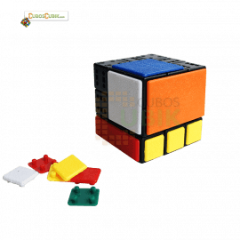 Cubos Rubik C4U Bandaged 3x3 - DIY Kit V1