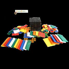 Cubos Rubik C4U Bandaged 3x3 - DIY Kit V2
