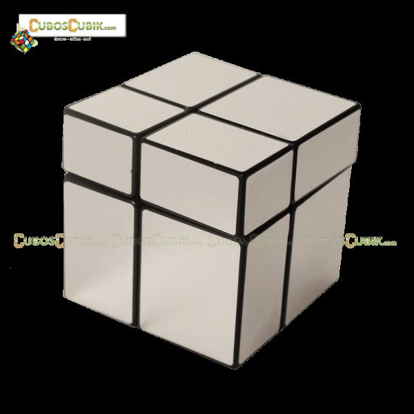 Cubos Rubik Mir-two cube Mirror 2x2 Base Plata