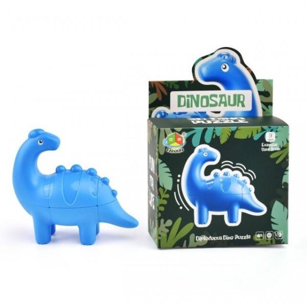 Cubo Rubik Fanxin Dino Diplodocus Cube