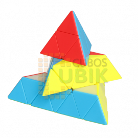 Cubos Rubik Fanxin Pyraminx 4x4 Colored