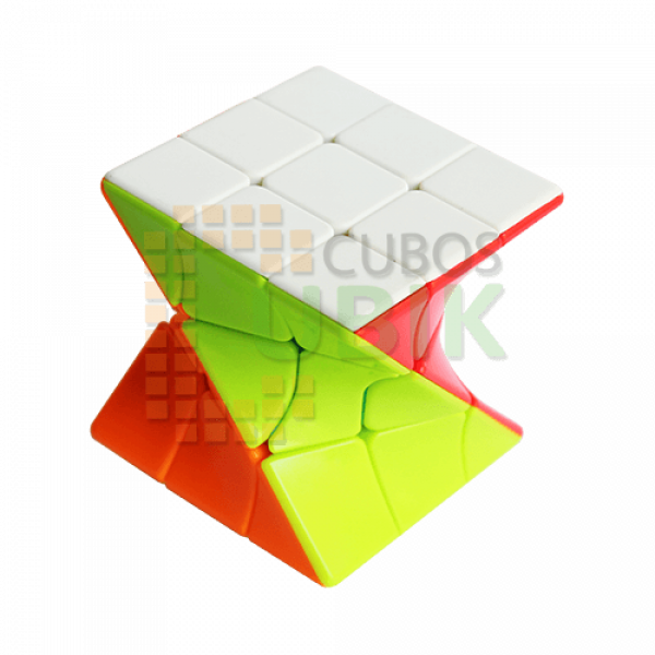 Cubos Rubik Fanxin Twisty 3x3 Colored