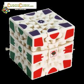Cubos Rubik Gear V2 Base Blanca
