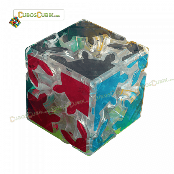 Cubos Rubik Gear 2x2 Base Transparente