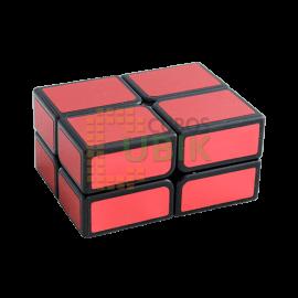 Cubo Rubik 2x2 Rectangular Rojo