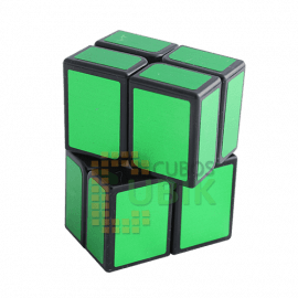 Cubo Rubik 2x2 Rectangular Verde