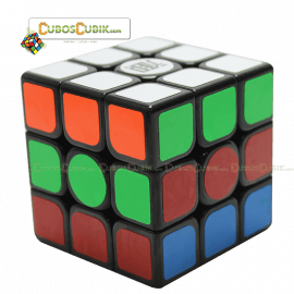 Cubos Rubik KungFu QingHung 3x3 Negro
