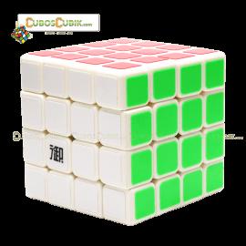 Cubos Rubik KungFu CangFeng 4x4 Blanco