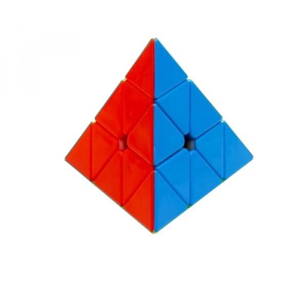 Cubos Rubik KungFu Pyraminx 3x3 Colored