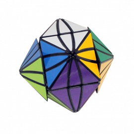 Cubos Rubik LeFun Moyan Evil Eye Negro