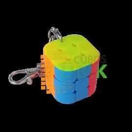 Cubos Rubik Llavero Octagonal Column Colored
