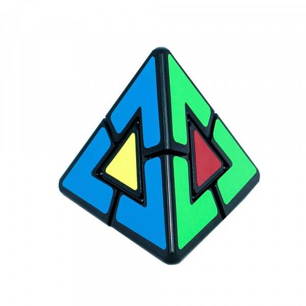 Cubos Rubik Pyraminx Duo LeFun Negro