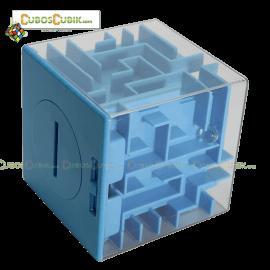 Cubos Rubik Maze Money Alcancía en Cubo Base Azul