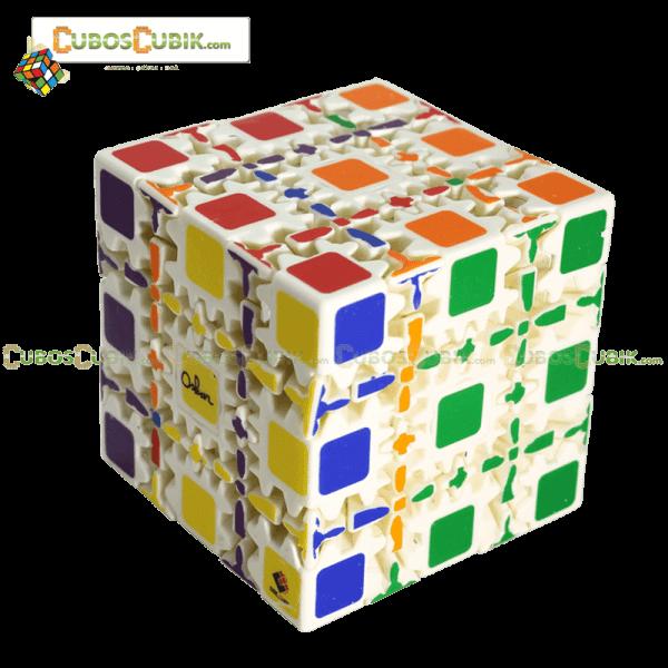 Cubos Rubik Gear 5x5 Blanco Oscar
