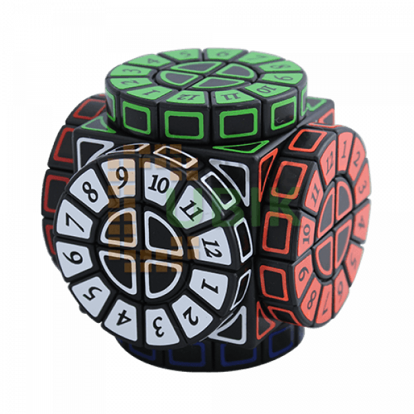 Cubos Rubik Time Machine Base Negra tipo Smaz
