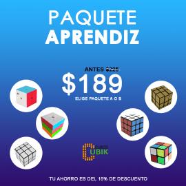 Cubos Rubik Paquete Aprendiz (2x2, 3x3 y Mirror)