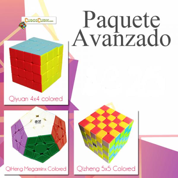 Cubos Rubik Paquete Avanzado (4x4, Megaminx, 5x5)