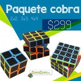 Cubos Rubik Paquete Cobra 2x2, 3x3 y 4x4