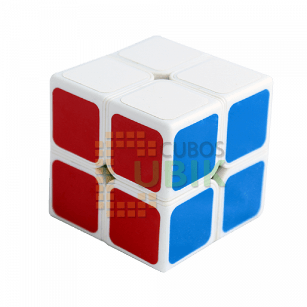 Cubos Rubik ShengShou 2x2 Aurora Base Blanca
