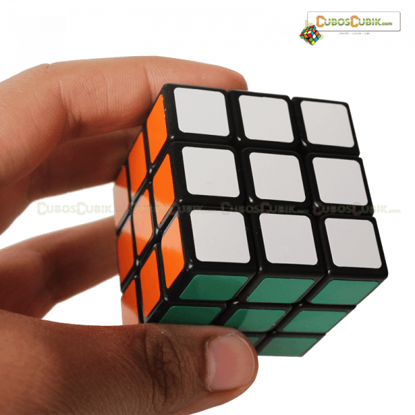 Cubos Rubik Shengshou 3x3 LingLong 47.mm Mini Base Negra