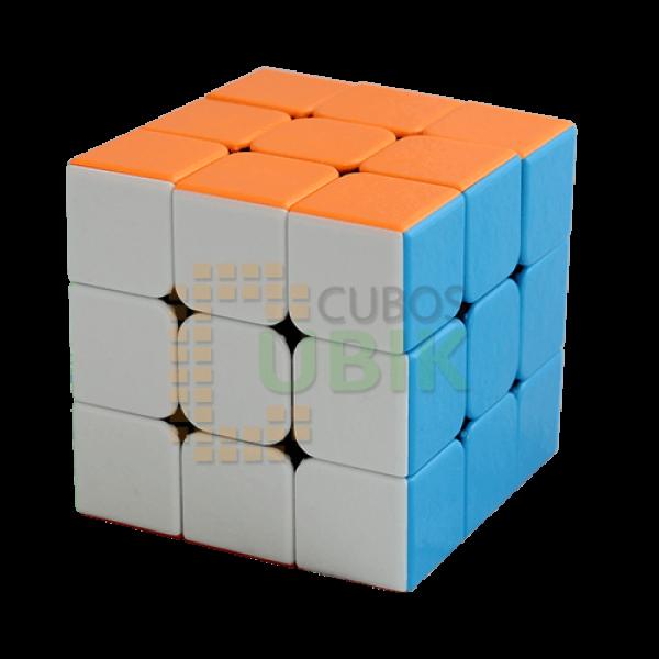 Cubos Rubik Shengshou 3x3 GEM Colored