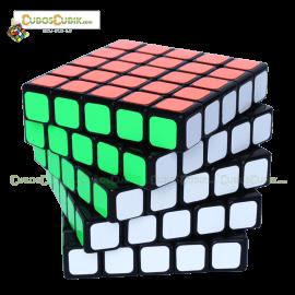 Cubos Rubik ShengShou Aurora 5x5 Base Negra