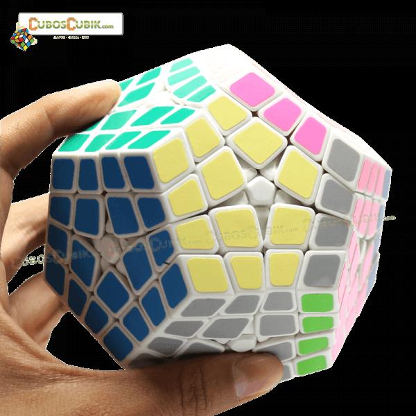 Cubos Rubik ShengShou Kilominx Blanco
