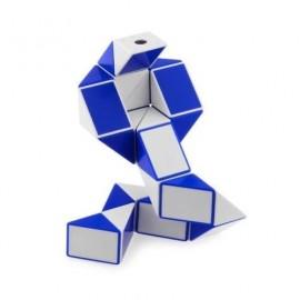 Cubos Rubik Shengshou Snake Twist Blanco Azul