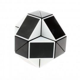 Cubos Rubik Shengshou Snake Twist Blanco Negro