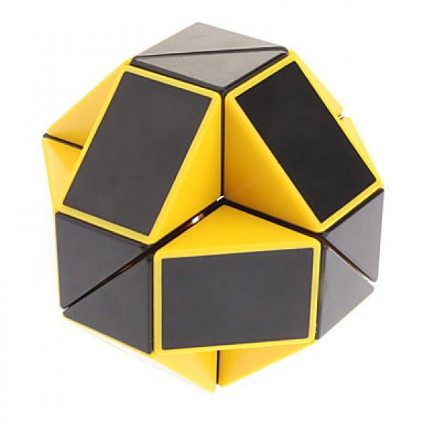 Cubos Rubik Shengshou Snake Twist Negro Amarillo