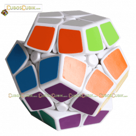 Cubos Rubik Shengshou Megaminx 2x2 Base Blanca