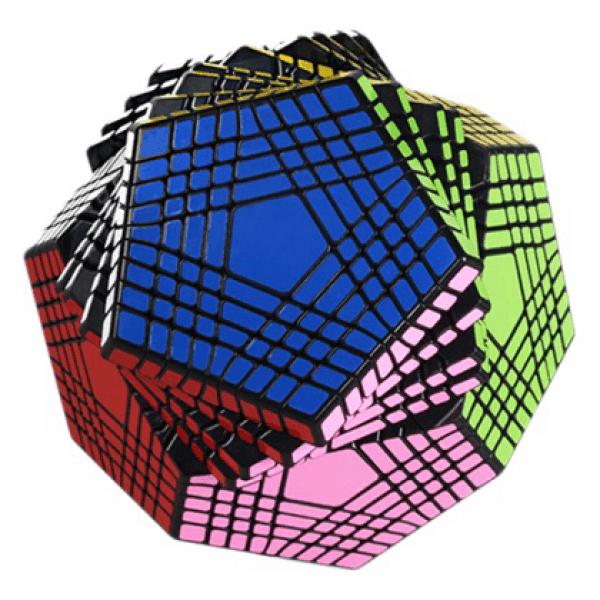 Cubos Rubik Shengshou Petaminx Base Negra