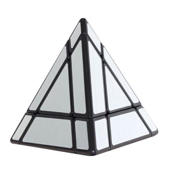 Cubos Rubik Shengshou Mirror Pyraminx 3x3 Plata