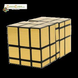 Cubos Rubik Shengshou 3x3x5 Mirror Dorado