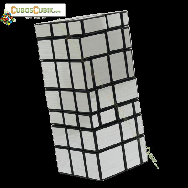 Cubos Rubik Shengshou 3x3x7 Mirror Plata