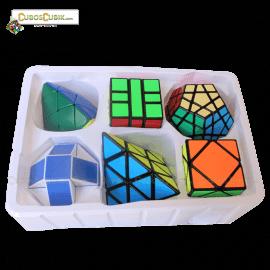 Cubos Rubik Paquete ShengShou 6 Cubos