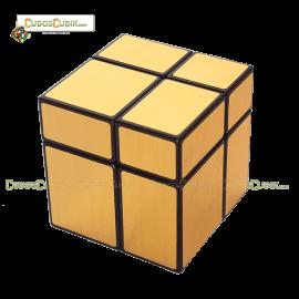 Cubo Rubik ShengShou Mirror 2x2 Dorado