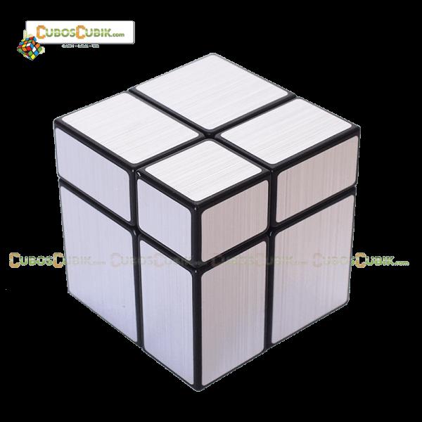 Cubo Rubik ShengShou Mirror 2x2 Plata