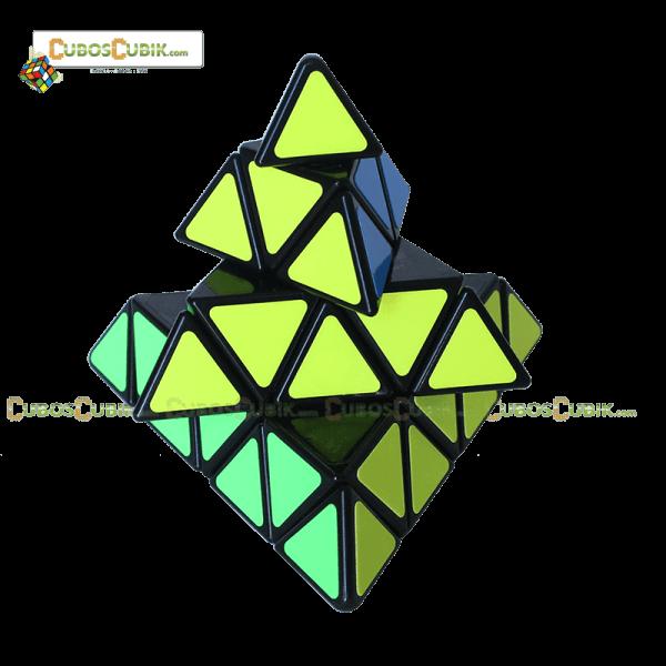 Cubos Rubik Shengshou Pyraminx 4x4 Base Negra