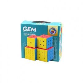 Cubos Rubik Shengshou Paquete Gem Gift Box