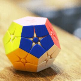 Cubos Rubik ShengShou 2x2 Megaminx Tank Colored