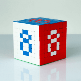 Cubos Rubik ShengShou 8x8 Tank Colored